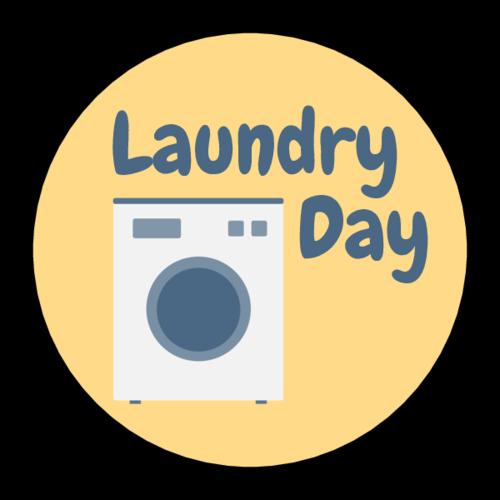 laundry day logo