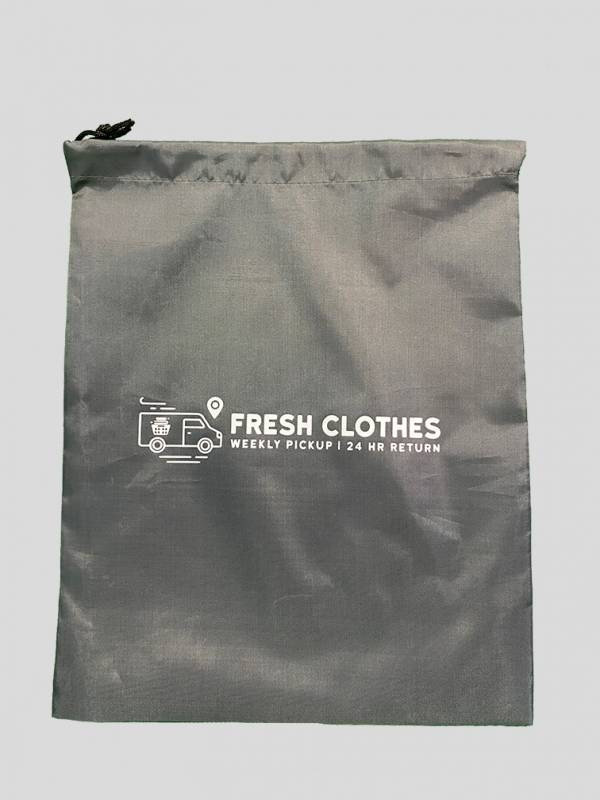 front view of an empty Fresh Clothes shoe bag