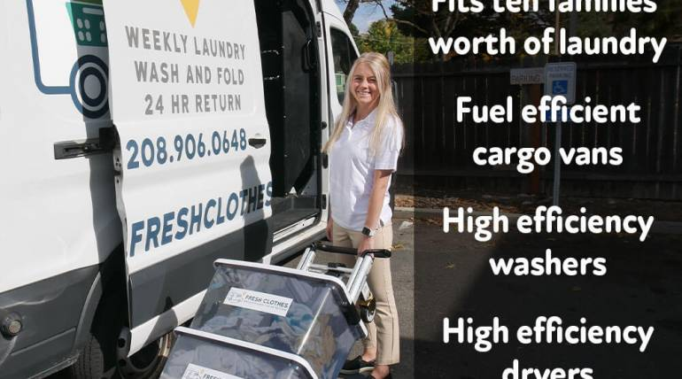 Four Ways our Mobile Laundry Delivery Service is good for the Environment